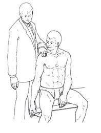 Доуборна тест на субакромиальный бурсит_I этап